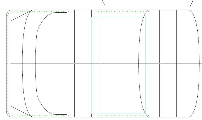 [レザークラフト]システム手帳の型紙設計中